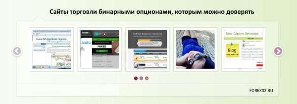 Сайты торговли бинарными опционами, которым можно доверять