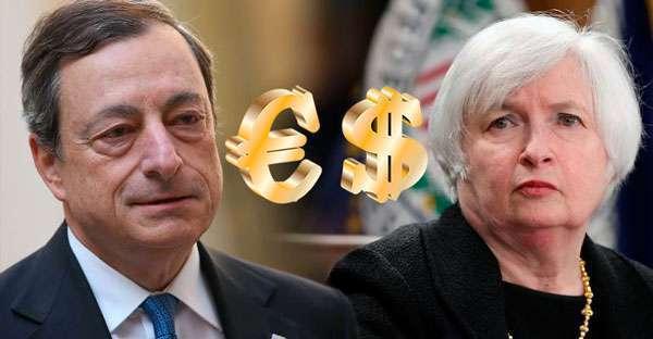 Несмотря на скорейшее выступление Йеллен и Драги, доллар пока что торгуется без изменений
