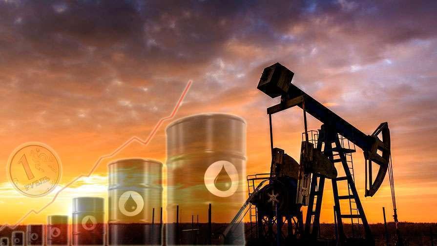 Нефть растет и рубль пытается поспевать за ней
