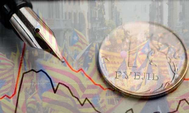 Референдум в Каталонии стал фактором снижения рубля