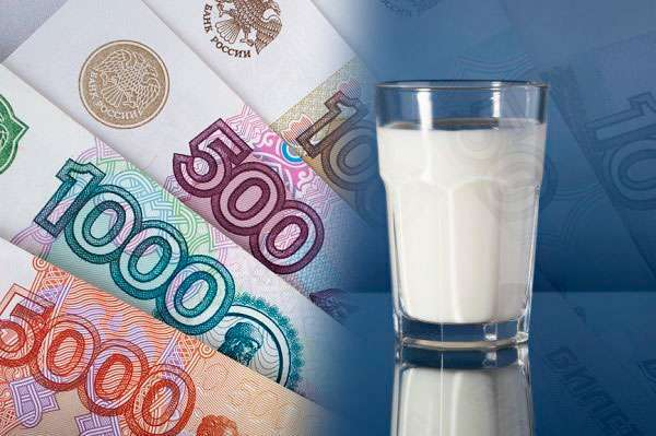 Цены на молоко третьего класса