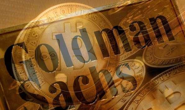 Goldman Sachs решает внимательно изучить торговое направление биткойнами