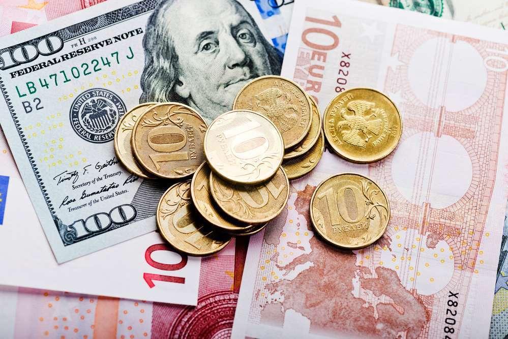 рубль со знаком евро