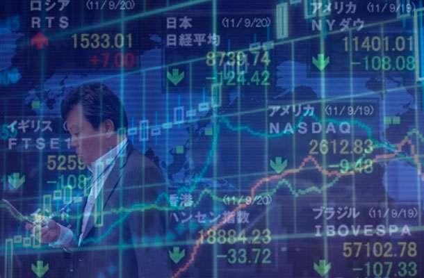 Азиатские акции падают вслед за Уолл-стрит