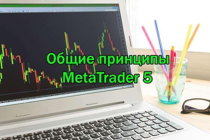 Общие принципы MetaTrader 5