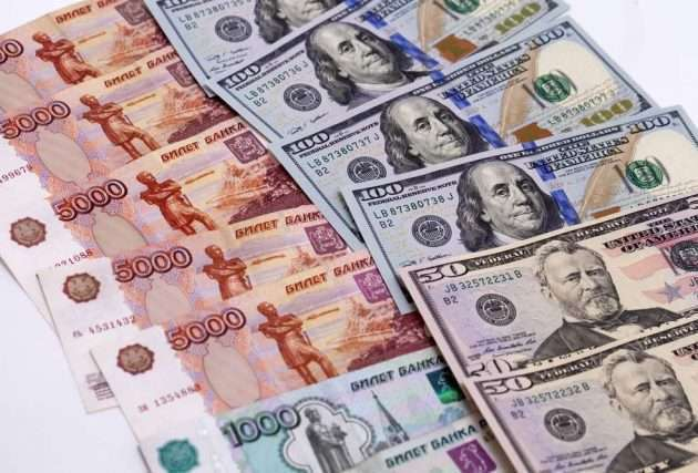 Пара USDRUB установила антирекорд