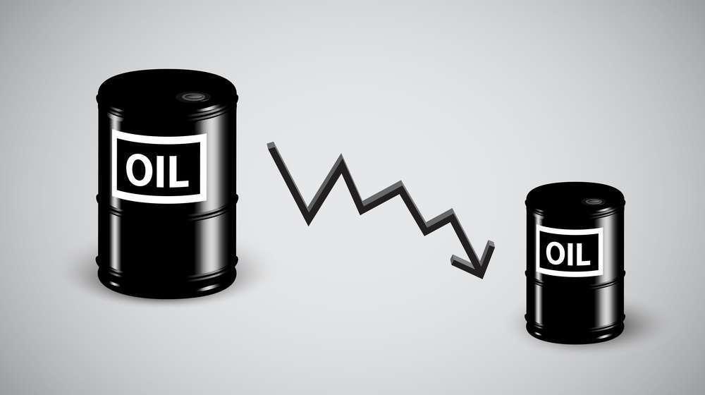 Падение нефти на фоне данных по запасам в США