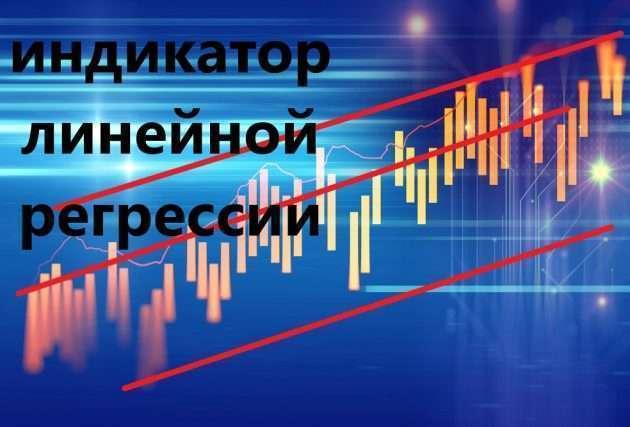 Торговля с помощью индикатора линейной регрессии
