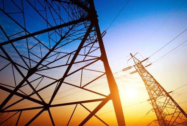 Поставки электроэнергии в Луганск с России