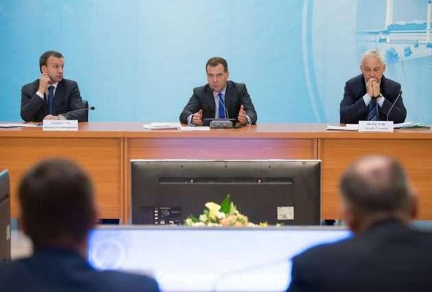 Требование Медведева относительно наказания за воровство газа в СКФО.