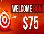 Welcome Bonus $75