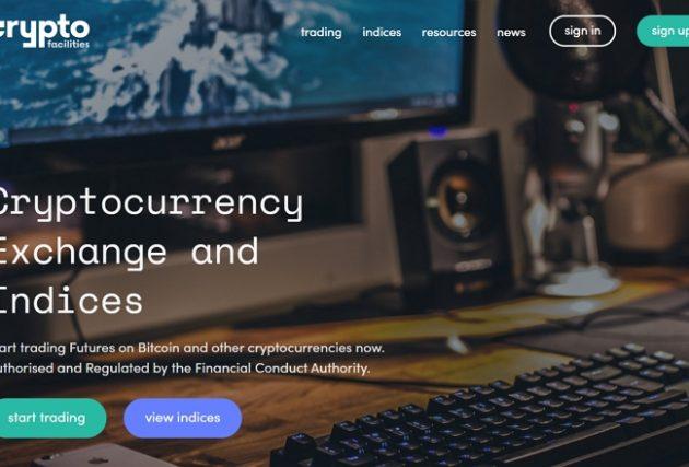 Crypto Facilities-сайт