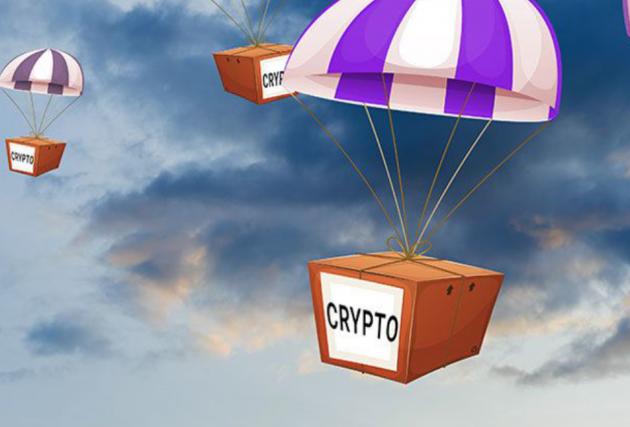 Аirdrop раздача криптовалюты бесплатно