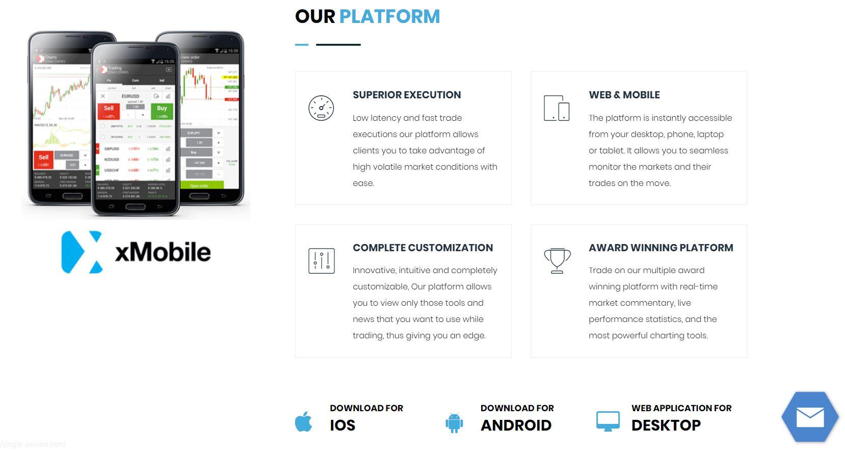 брокер GLB Markets платформы