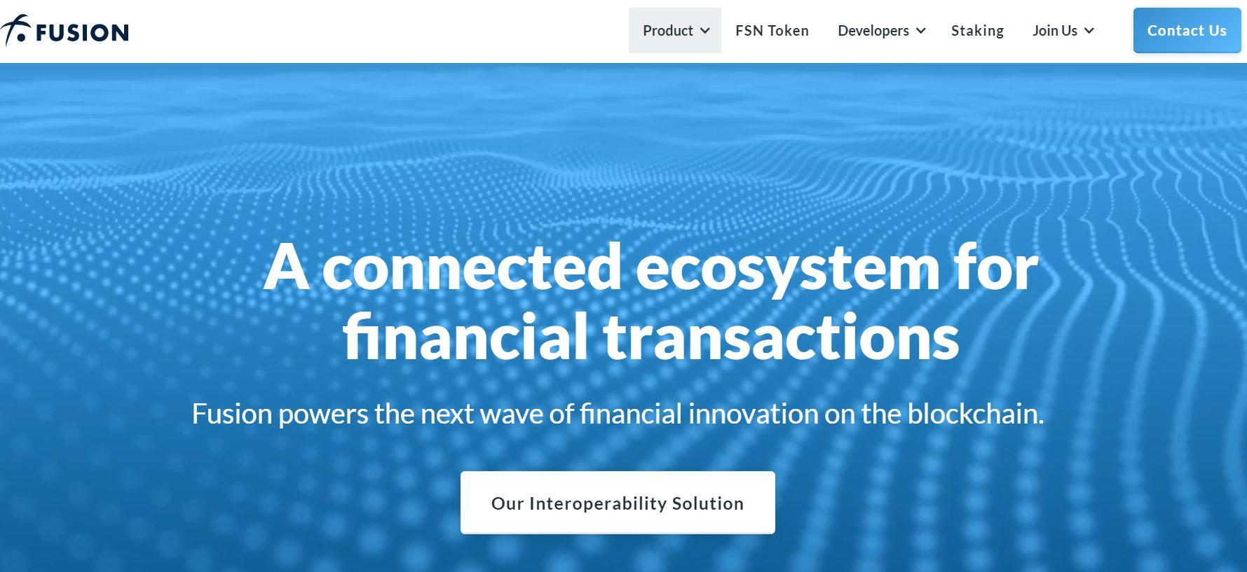 fusion торговая платформа официальный сайт