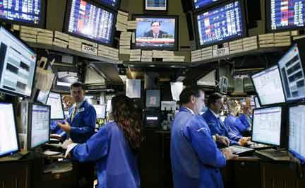 Мировые биржи после резкого обвала