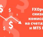 FXOpen улучшил условия торговли на ECN счетах