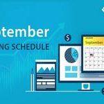 Расписание выходных на биржах: Сентябрь 2020