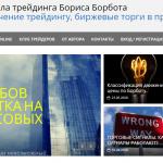 Обзор Школы трейдинга Бориса Борбота